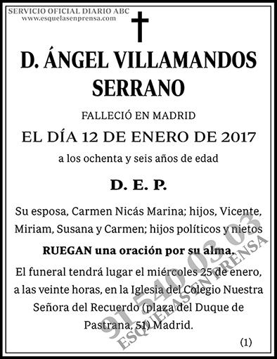 Ángel Villamandos Serrano